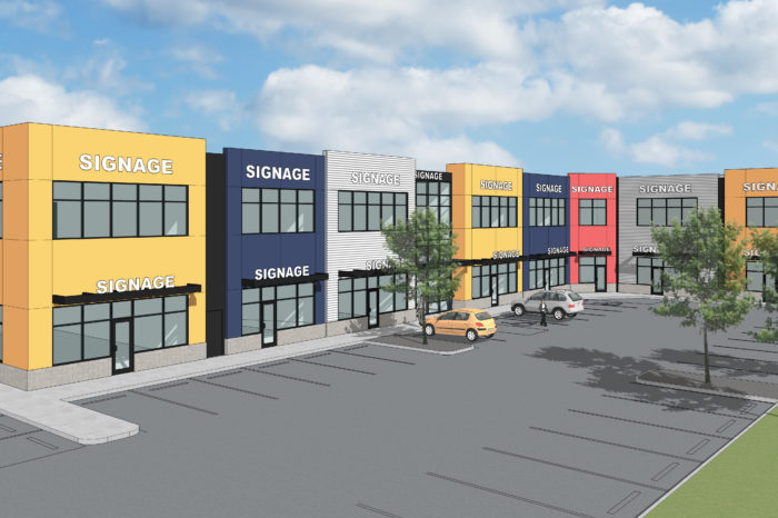 sioux Road commercial Plaza Marquee Builds Commercial Construction